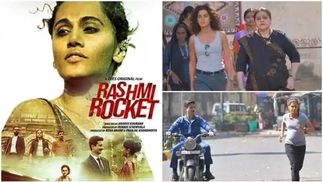 Rashmi Rocket Review: दमदार मैसेज के साथ 'रश्मि रॉकेट' ने भरी उड़ान, तापसी पन्नू को दि ...