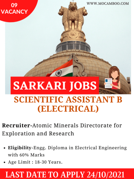 Scientific Assistant B (Electrical)