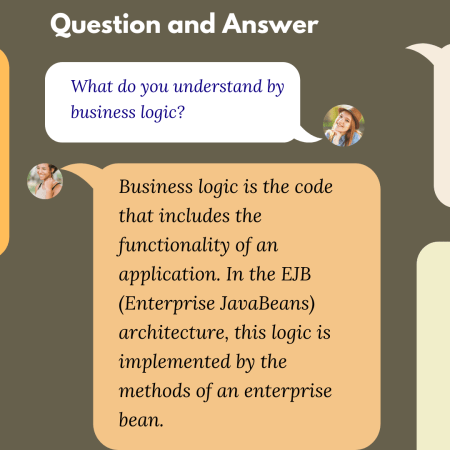 What do you understand by business logic?