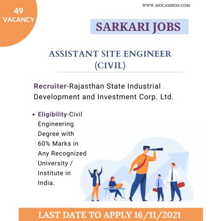 Assistant Site Engineer (Civil)