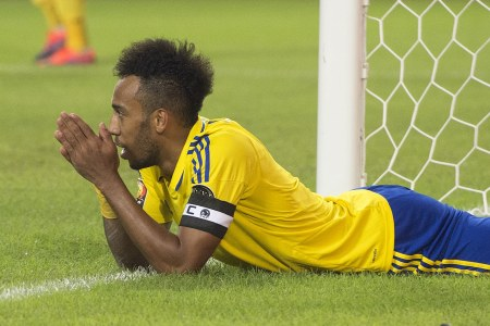 How many games Arsenal's Pierre-Emerick Aubameyang and Thomas Partey are set to miss due t ...