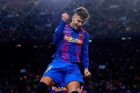Pique broke tie with Ramos to make history in Barcelona win over Dynamo
