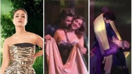 हिना खान को इम्प्रेस करने के लिए ईशान-मायशा ने किया हॉट डांस, चादर में लिपट कर करण-निशांत ने भी  ...
