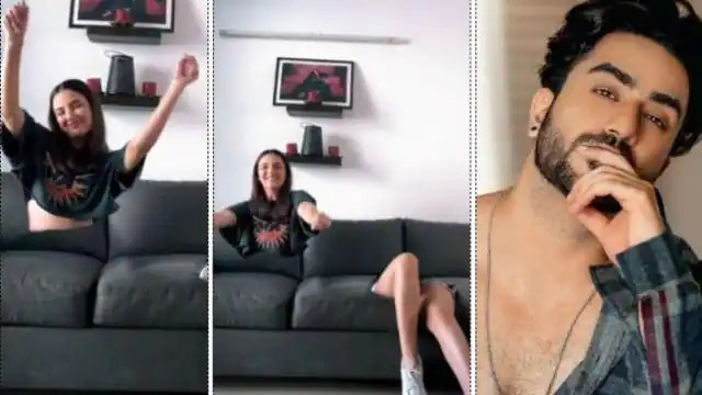 Ali Goni was shocked to see Jasmin Bhasin strange video says What the hell u r doing – Ent ...