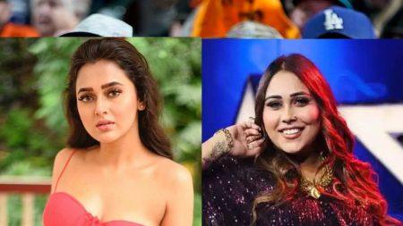 Bigg boss 15 afsana khan called tejasswi prakash naukrani fans slams her