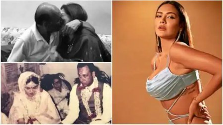 Esha gupta shared kissing photo and dancing video of parents on their marriage anniversary ̵ ...