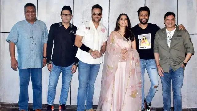 Fardeen Khan comeback film Visfot also stars Riteish Deshmukh directed by Kookie Gulati is the o ...