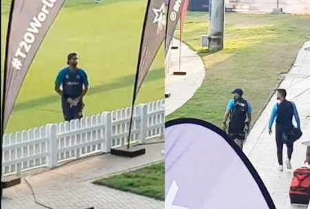 India Vs Pakistan T20 World Cup 2021: Pakistani Player Shahnawaz Dahani Was Seen Talking To Ms D ...