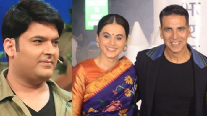 Kapil Sharma teased Taapsee Pannu for her movies says actress shows Akshay Kumar the way out fro ...