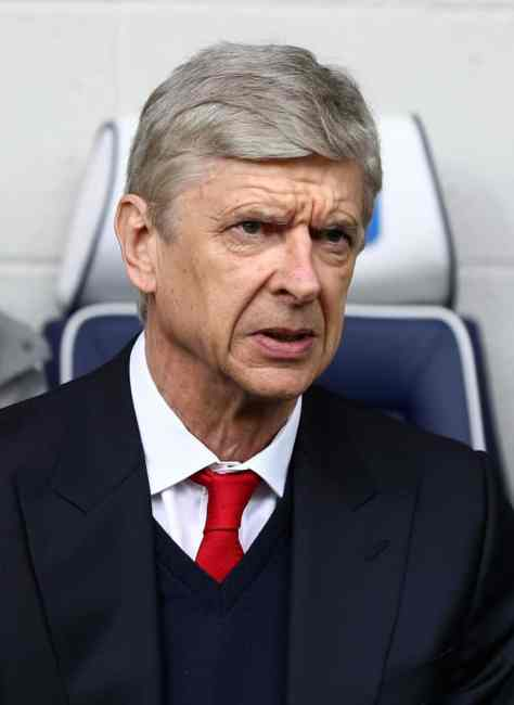 Wenger at West Brom
