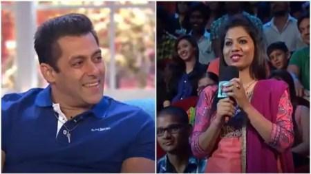 Salman Khan Funny reply to female fan on Comedy Nights With Kapil with Nawazuddin Siddiqui ̵ ...