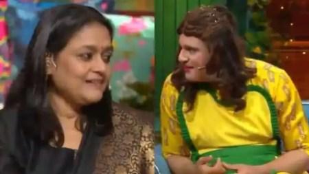 The kapil sharma show Krushna Abhishek told Supriya Pathak how she can ask for a share in Amitab ...