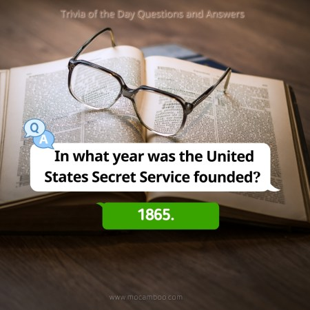 In what year was the United States Secret Service founded?