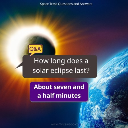 How long does a solar eclipse last?