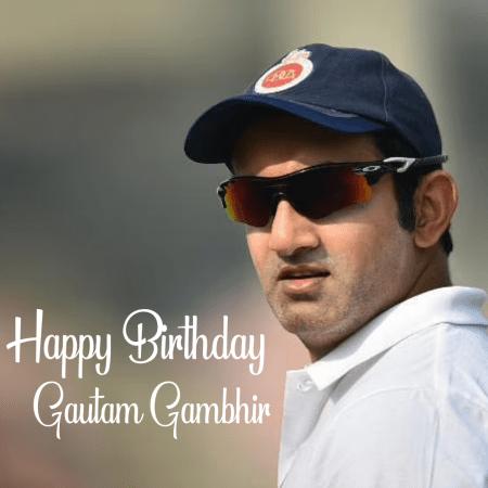 Gautam Gambhir | HBD Gautam Gambhir | Happy Birthday Gautam Gambhir |