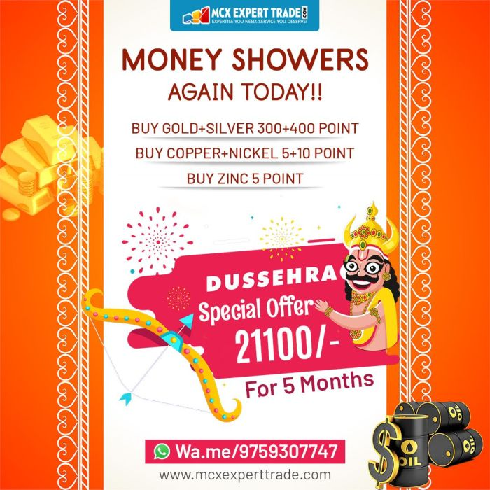 MONEY SHOWERS AGAIN TODAY!! BUY GOLD+SILVER 300+400 POINT BUY COPPER+NICKEL 5+10 POINT BUY ZINC  ...