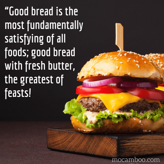 """""""Good bread is the most fundamentally satisfying of all foods; good bread with fresh butter, the ..."""