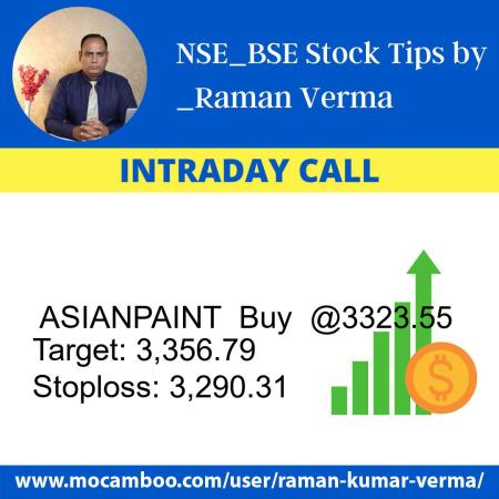 Live  ASIANPAINT  Buy  @3323.55    Trading Call