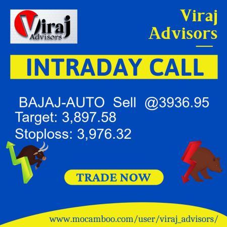 Live  BAJAJ-AUTO  Sell  @3936.95    Trading Call