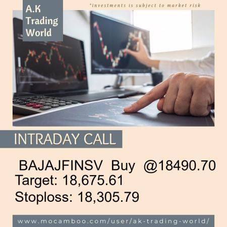 Live  BAJAJFINSV  Buy  @18490.70    Trading Call