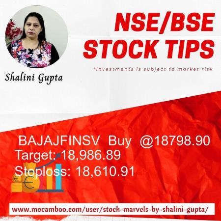 Live  BAJAJFINSV  Buy  @18798.90    Trading Call