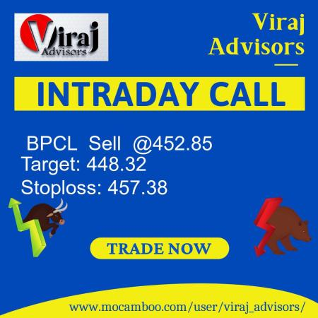 Live  BPCL  Sell  @452.85    Trading Call