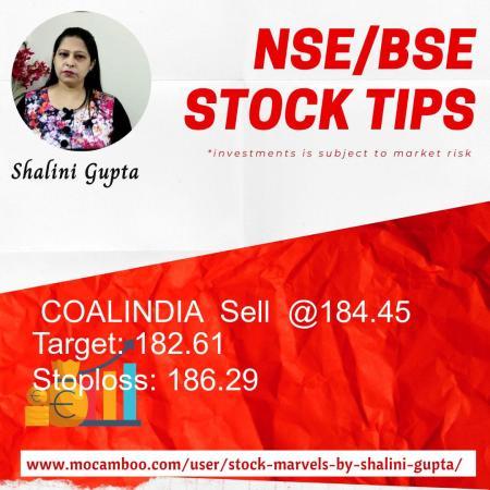 Live  COALINDIA  Sell  @184.45    Trading Call
