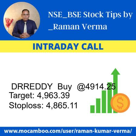 Live  DRREDDY  Buy  @4914.25    Trading Call