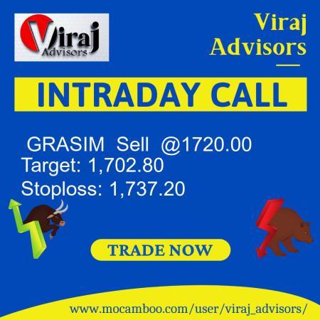 Live  GRASIM  Sell  @1720.00    Trading Call