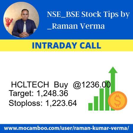 Live  HCLTECH  Buy  @1236.00    Trading Call