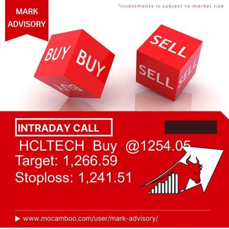 Live  HCLTECH  Buy  @1254.05    Trading Call