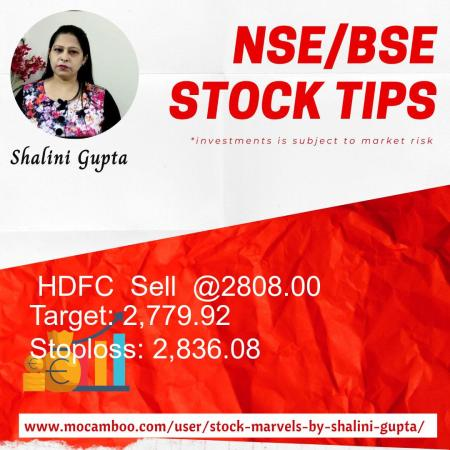 Live  HDFC  Sell  @2808.00    Trading Call