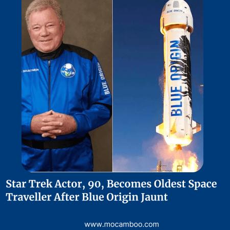 Star Trek Actor, 90, Becomes Oldest Space Traveller After Blue Origin Jaunt