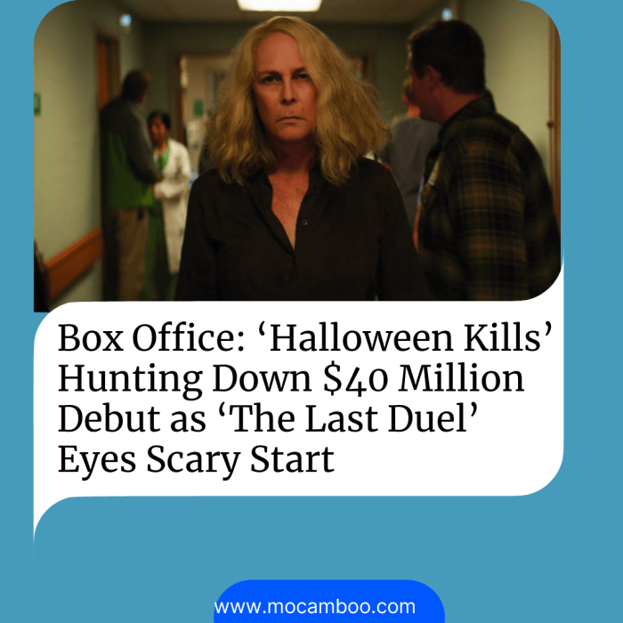 Box Office: 'Halloween Kills' Hunting Down $40 Million Debut as 'The Last Duel' Eyes Scary Start