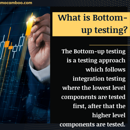 =What is Bottom-up testing?