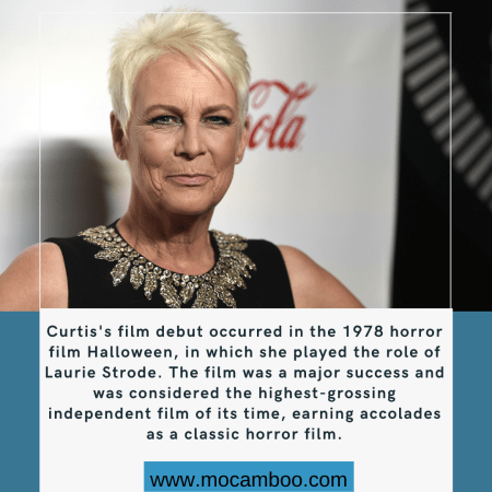 Curtis's film debut occurred in the 1978 horror film Halloween, in which she played the ro ...