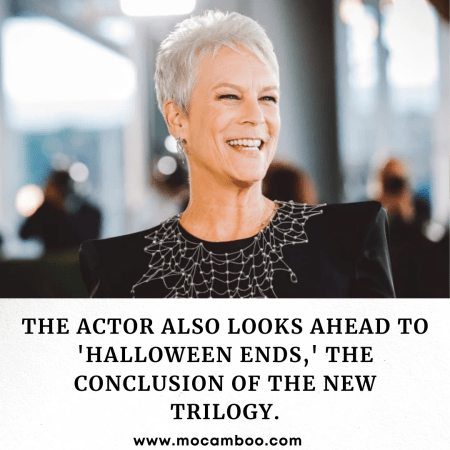 The actor also looks ahead to 'Halloween Ends,' the conclusion of the new trilogy.