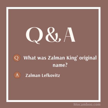 What was Zalman King' original name?