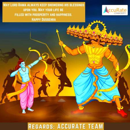 HAPPY DUSSEHRA UPDATE : BY ACCURATECOMMODITY.COM FOR FREE MCX TRIAL, DIAL NOW : 8267907171
