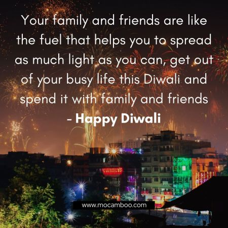 Your family and friends are like the fuel that helps you to spread as much light as you can, get ...