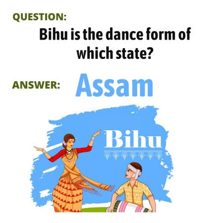 Bihu is the dance form of which state?