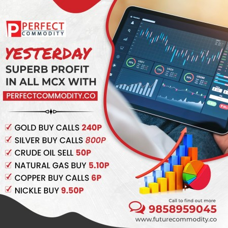 YESTERDAY SUPERB PROFIT IN ALL MCX WITH PERFECTCOMMODITY.CO CONTACT WITH US 9858959045