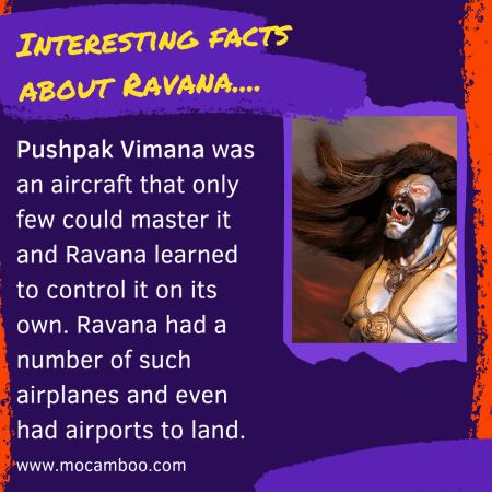 Interesting facts about Ravana….