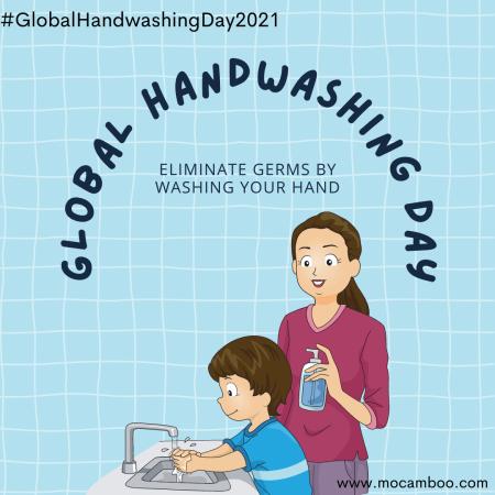 Global Handwashing Day – October 15, 2021