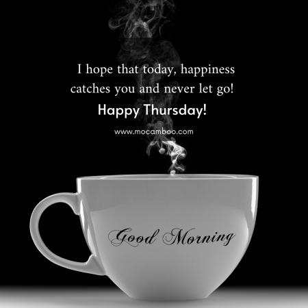 Good Morning Thursday…..