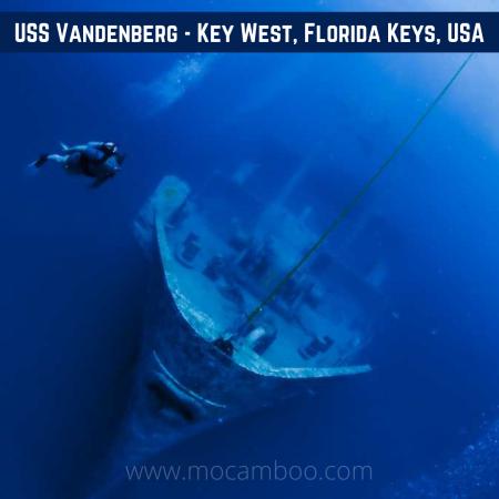 USS Vandenberg – Key West, Florida Keys, USA