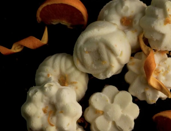 orange eucalyptus shower melts