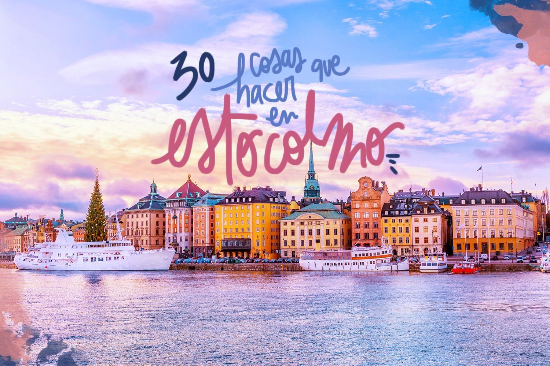 30 cosas que ver y hacer en Estocolmo
