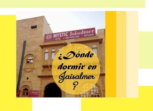 Donde dormir en Jaisalmer, Hotel Mystic