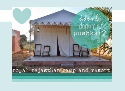 Donde dormir en Pushkar, Royal Rajasthan Camp Resort